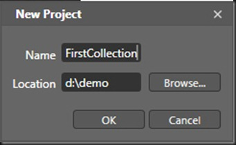 DZCNewProjectWindow